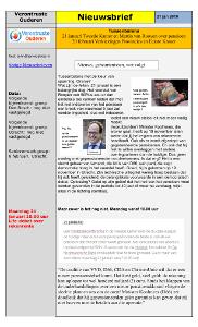 Nieuwsbrief20190121